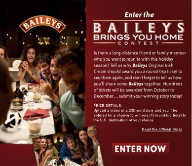 Baileys воссоединит семьи на Рождество