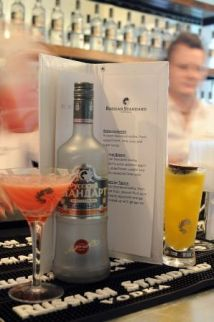НАПИТКИ №3 «РУССКИЙ СТАНДАРТ»: the only vodka from Russia…