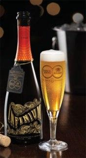 Пиво Infinium как шампанское