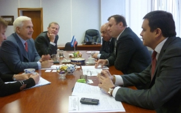 Представители Росалкоголя встретились с главой МОВВ