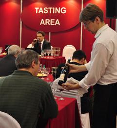 Мастер-класс «Греция: Жемчужина Ксиномавро» на выставке «Индустрия Напитков / Russian Wine Fair 2010»
