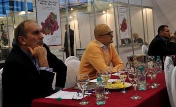 Мастер-класс «Такая разная Греция» на выставке «Индустрия Напитко/ Russian Wine Fair 2010»