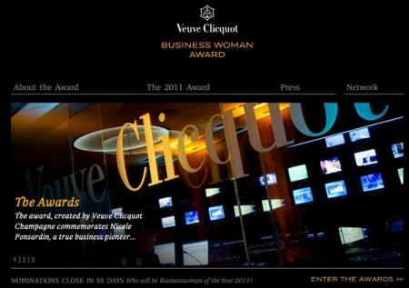 Мадам Клико наградит Бизнес-леди