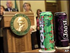 США запретили продажу слабоалкогольных коктейлей