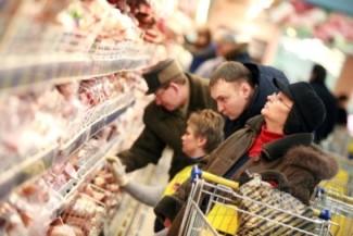 Сколько россияне тратят на продукты питания