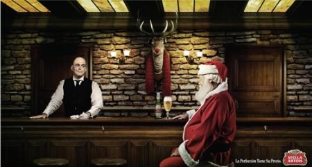 Санта-Клаус тоже любит пиво