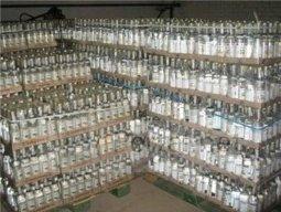 В Оренбурге выявлен цех контрафактного алкоголя