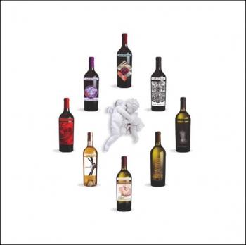 Линейка вин «ВЕЛИКИЕ ДИЗАЙНЕРЫ» -Союз вина, моды и искусства