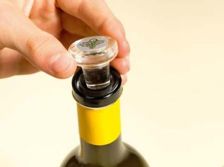 Стеклянная пробка для вина