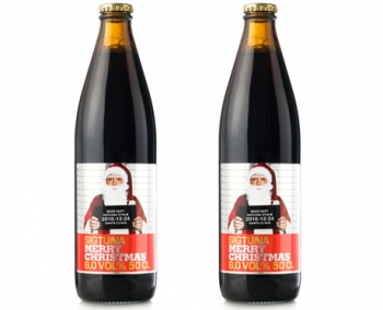 Рождественское пиво от шведской Sigtuna