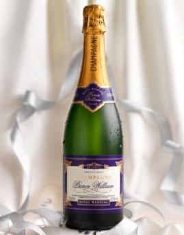 Шампанское Prince William посвящено королевской свадьбе