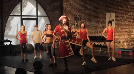 Фитнес от Captain Morgan