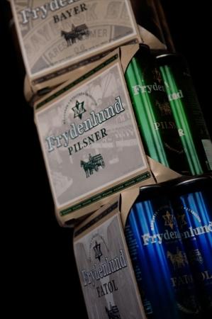 Новый пива дизайн Frydenlund нацелен на молодежь