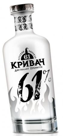 КРИВАЧ 61 градус: Экстремальный русский дистиллят-премиум