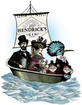 Hendrick's приглашает любителей приключений на чаепитие