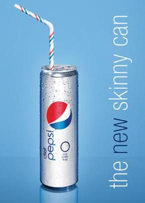 «Стройная» банка Diet Pepsi дебютирует на Неделе моды в Нью-Йорке