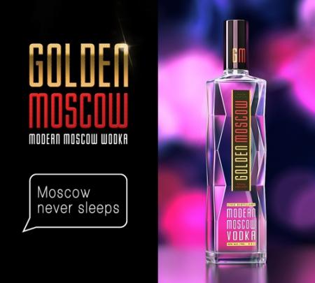 У москвичей появится собственная водка: Golden Moscow
