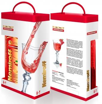 Популярный напиток от Nemiroff в новой упаковке к 8 марта