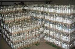 Крупные партии контрафактной водки изъяты в Кабардино-Балкарии
