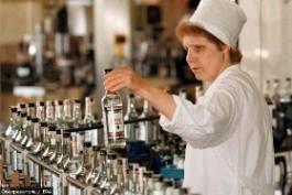Краснодарский край сократил производство водки в  на 40,6 %