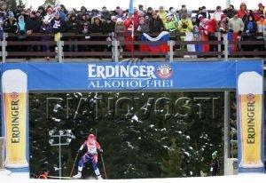 Erdinger Weissbrau поддержит биатлонистов