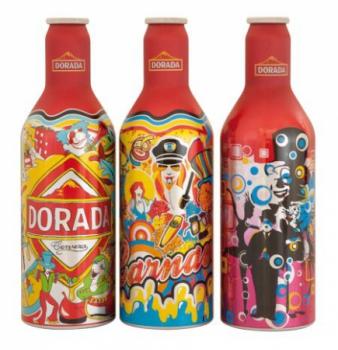 Карнавальное пиво в алюминиевых бутылках от Boxal