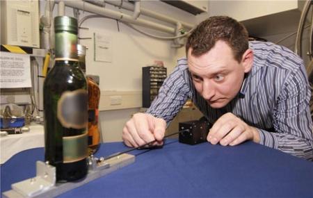 Технология выявления бутилированного контрафактного алкоголя