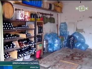 В Краснодаре закрыто производство поддельного алкоголя