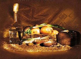 О хлебном вине, которое пили еще наши предки