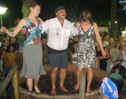 Состязание виноделов на Кипре