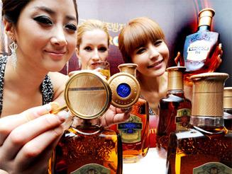 Diageo борется с подделками виски