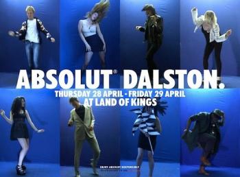 ABSOLUT Dalston: вечеринка танцующих портретов