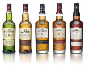 Новый дизайн упаковки виски The Glenlivet
