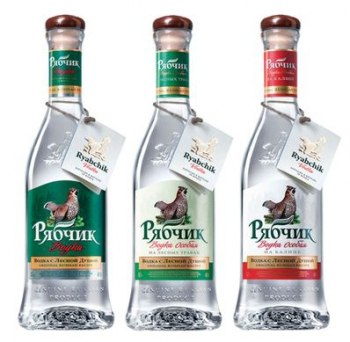 Рекламная кампания водочного бренда «Рябчик» охватила 12 городов