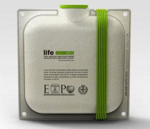 """Футуристичная упаковка для воды """"Life"""""""