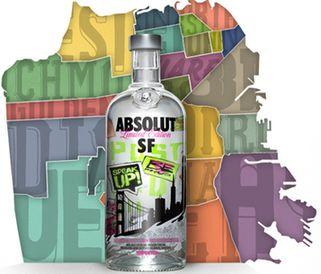 ABSOLUT SF: водка в стиле Фриско