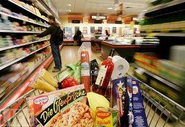 В 2010 году оборот розничной торговли прод. товарами  вырос на 17%