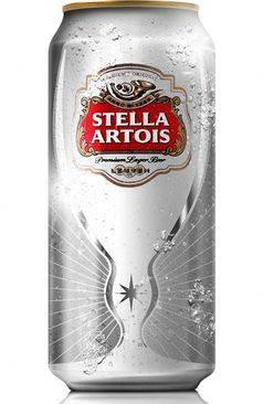 Stella Artois представляет новый дизайн банки