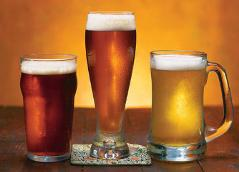 Белорусы спасаются от кризиса пивом