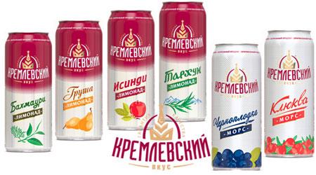 """""""Мегапак"""" начала разливать лимонад под торговой маркой """"Кремлевск"""