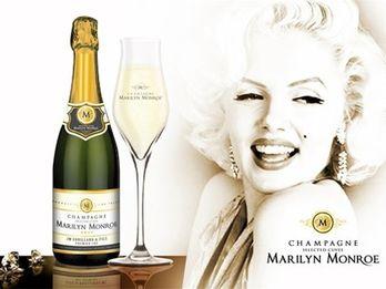 Создано шампанское в честь Мэрилин Монро