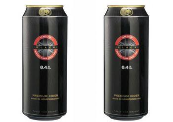 Новый сидр Union Black 8,4%.
