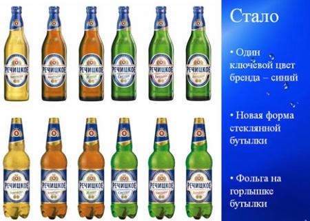 """Компания Heineken в Беларуси обновила дизайн бренда """"Речицкое"""""""