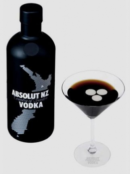 Новая водка Absolut NZ от Huffer
