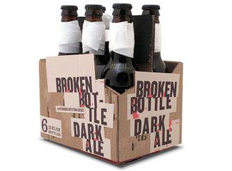 «Разбитая бутылка» получила соответствующую названию упаковку