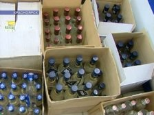 В Казани задержали производителя «элитной» водки. Видео