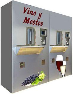 Вино через автомат