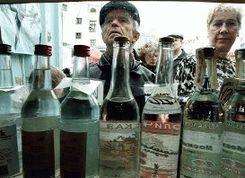 В Беларуси продолжают расти продажи водки