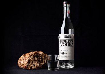 Водка Bishkek в новой бутылке начала продаваться в Голландии