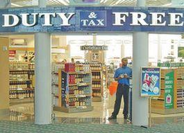 Продажи алкоголя в магазинах duty free резко выросли